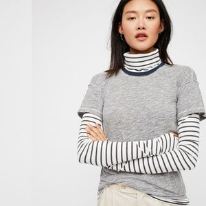 Free People We the Free Piper Twofer Layered Tee